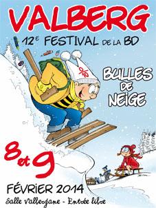 12e Festival de la BD de Valberg 2014 Bulles de Neige MPOCOM