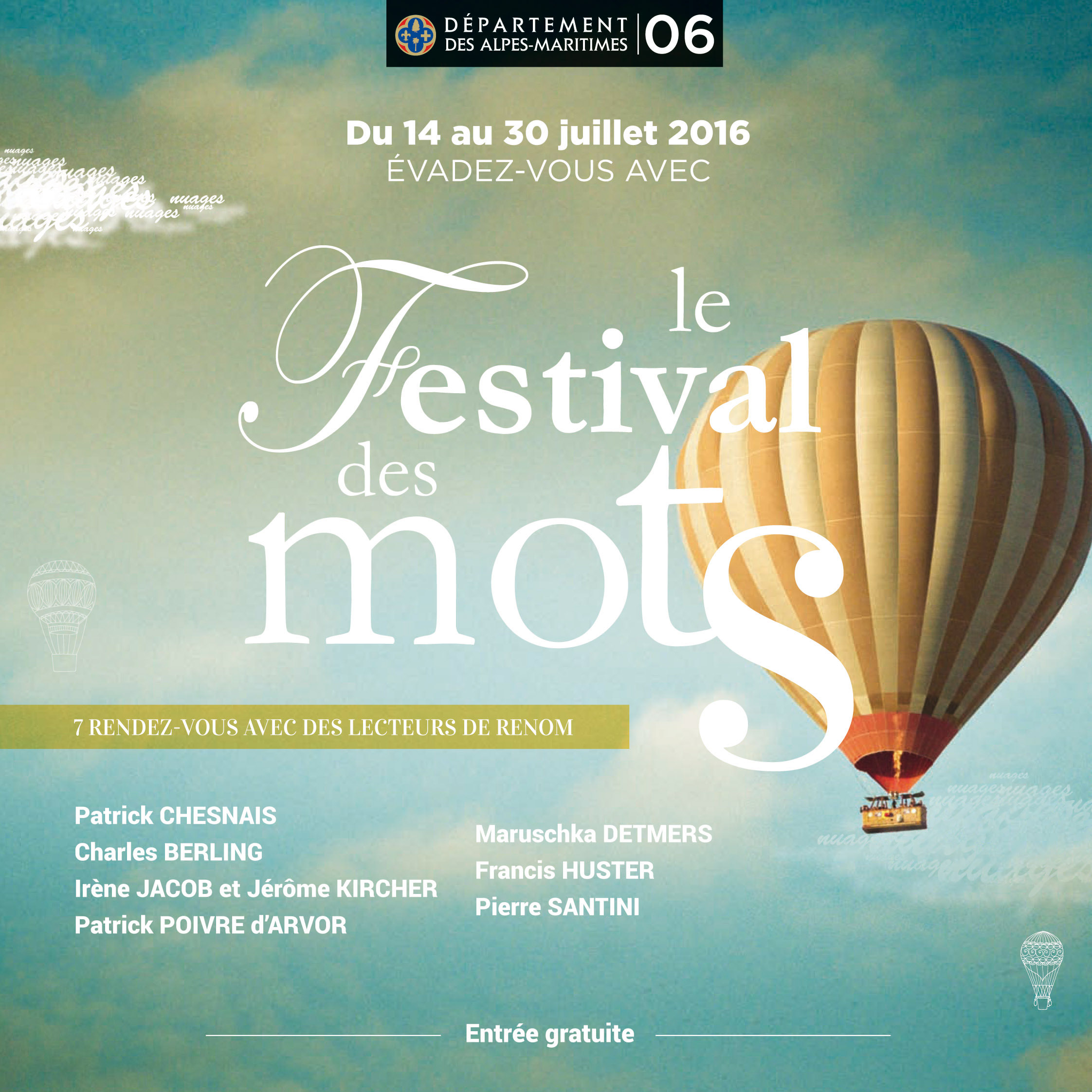 Festival des Mots 2016 | Agence MPO - Organisation d